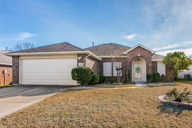 3300 Athens Drive, Corinth, TX 76210 (MLS #14261004) :: Baldree Home Team