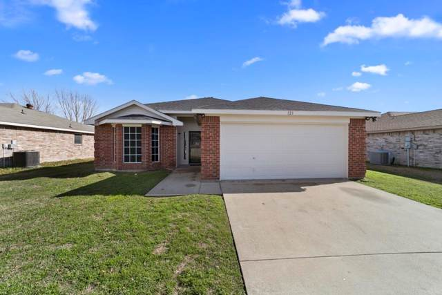 123 Tranquillity Lane, Waxahachie, TX 75165 (MLS #14261085) :: RE/MAX Landmark