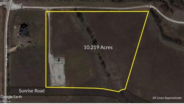10 ac Sunrise Road, Ponder, TX 76259 (MLS #14261151) :: The Real Estate Station