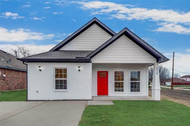 630 Trout Street, Rockwall, TX 75032 (MLS #14261176) :: RE/MAX Landmark