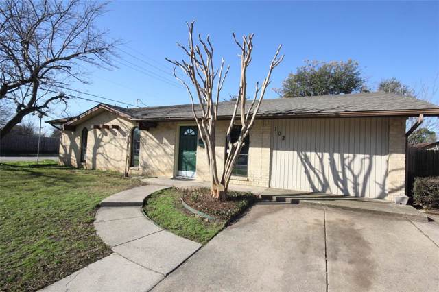 102 Eastwood Place, Lewisville, TX 75067 (MLS #14261187) :: Frankie Arthur Real Estate