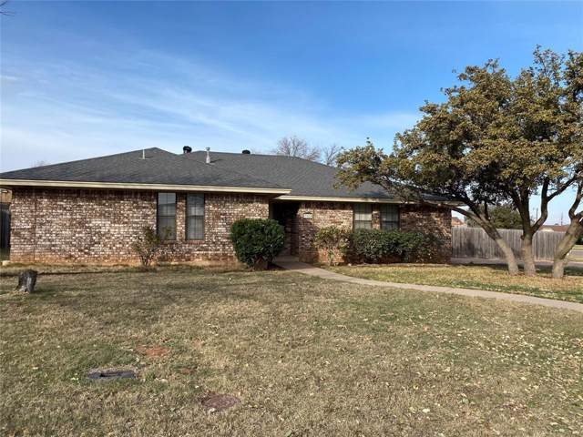 7942 Hearne Drive, Abilene, TX 79606 (MLS #14261213) :: Ann Carr Real Estate
