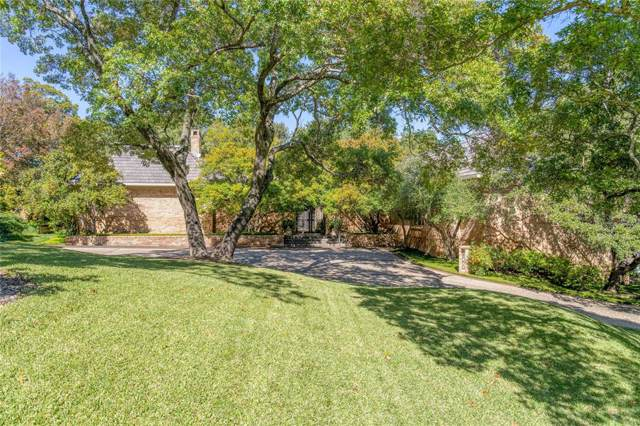 6000 Indian Creek Court, Westover Hills, TX 76107 (MLS #14261286) :: The Kimberly Davis Group