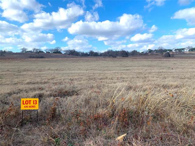 TBD Farm Market 205, Stephenville, TX 76401 (MLS #14261315) :: Real Estate By Design