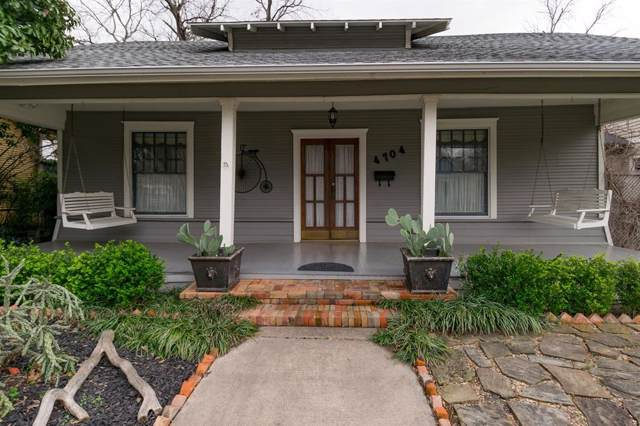 4704 Sycamore Street, Dallas, TX 75204 (MLS #14261316) :: Maegan Brest | Keller Williams Realty