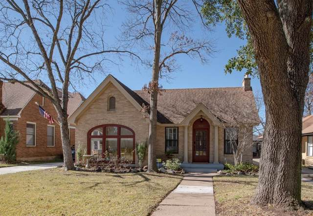 1031 N Windomere Avenue, Dallas, TX 75208 (MLS #14261335) :: Van Poole Properties Group