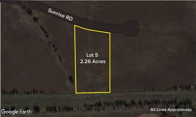 Lot 5 Sunrise Road, Ponder, TX 76259 (MLS #14261386) :: The Real Estate Station