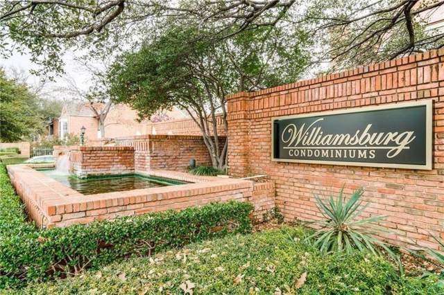 12660 Hillcrest Road #7202, Dallas, TX 75230 (MLS #14261427) :: The Hornburg Real Estate Group
