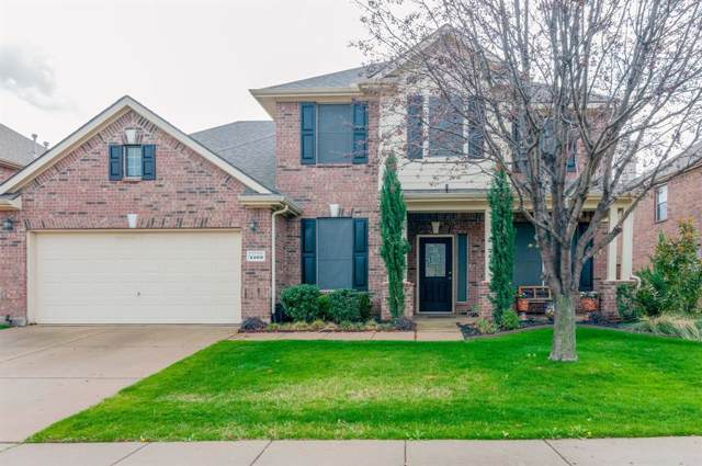 4100 Dellman Drive, Fort Worth, TX 76262 (MLS #14261474) :: All Cities Realty