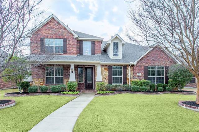 1041 Everglades Drive, Allen, TX 75013 (MLS #14261551) :: The Kimberly Davis Group