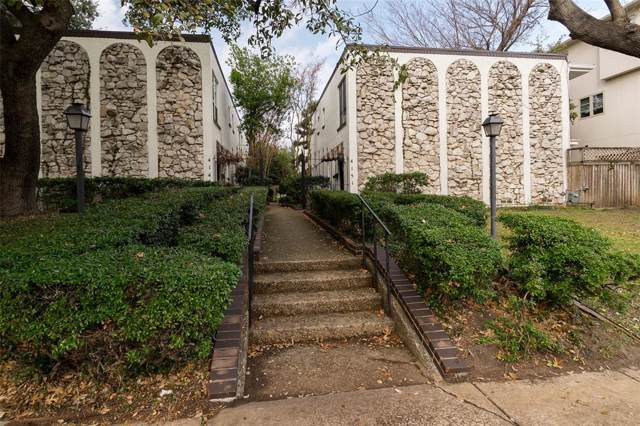 4151 Wycliff Avenue #102, Dallas, TX 75219 (MLS #14261581) :: RE/MAX Town & Country