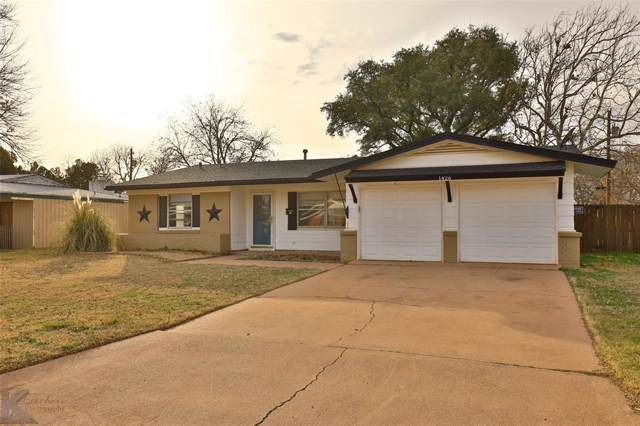1426 Rosewood Drive, Abilene, TX 79603 (MLS #14261583) :: The Mitchell Group
