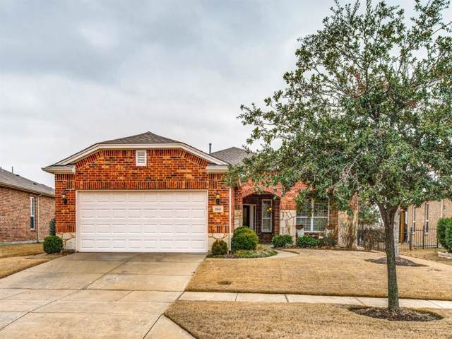 1841 Dexter Lane, Frisco, TX 75036 (MLS #14261605) :: RE/MAX Pinnacle Group REALTORS