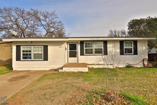 2057 Barrow Street, Abilene, TX 79605 (MLS #14261636) :: The Chad Smith Team