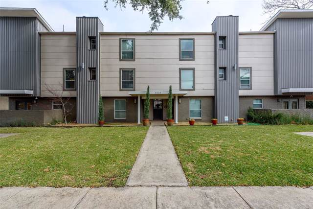 4224 Rawlins Street #108, Dallas, TX 75219 (MLS #14261660) :: The Hornburg Real Estate Group