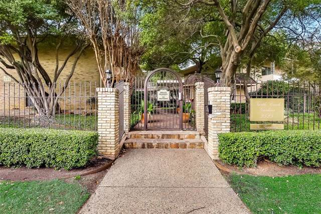 2525 Turtle Creek Boulevard #404, Dallas, TX 75219 (MLS #14261670) :: Frankie Arthur Real Estate