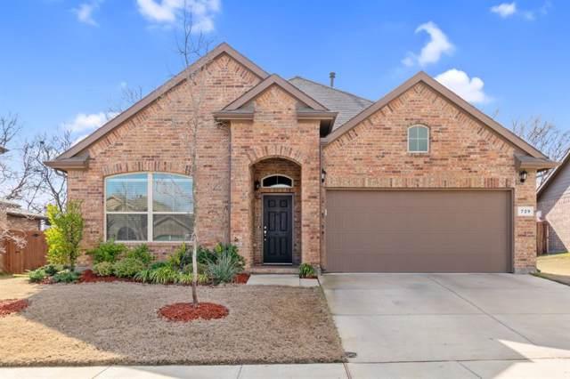 729 Redding Drive, Saginaw, TX 76131 (MLS #14262799) :: The Tierny Jordan Network
