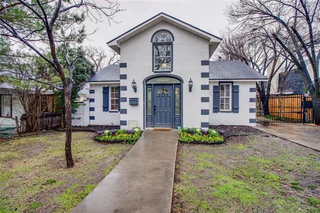 5704 Pershing Avenue, Fort Worth, TX 76107 (MLS #14262843) :: Potts Realty Group