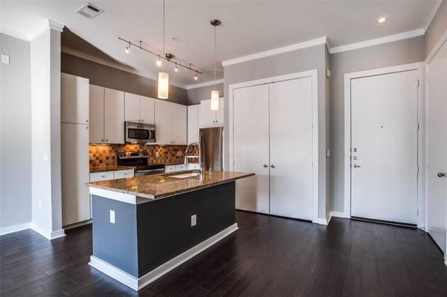 2950 Mckinney Avenue #416, Dallas, TX 75204 (MLS #14262943) :: The Hornburg Real Estate Group