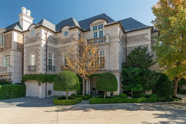 3901 Turtle Creek Boulevard #1, Dallas, TX 75219 (MLS #14262950) :: Real Estate By Design
