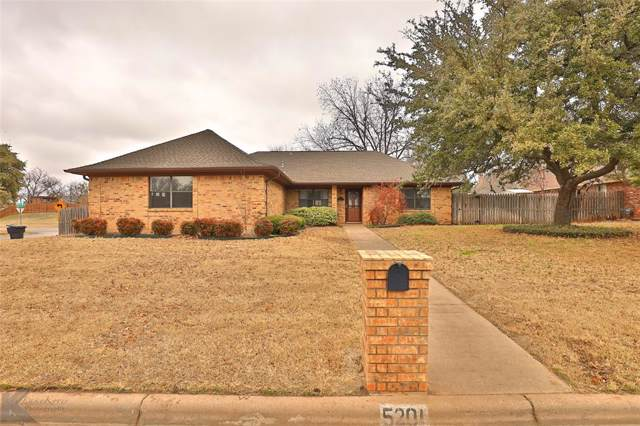 5201 Sherbrooke Lane, Abilene, TX 79606 (MLS #14262967) :: The Chad Smith Team