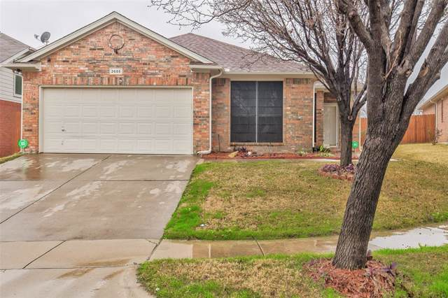 2655 Bull Shoals Drive, Fort Worth, TX 76131 (MLS #14262968) :: Ann Carr Real Estate