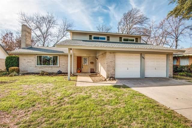 701 Lexington Drive, Irving, TX 75061 (MLS #14262981) :: Van Poole Properties Group