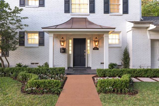 4607 Edmondson Avenue, Highland Park, TX 75209 (MLS #14262989) :: Robbins Real Estate Group