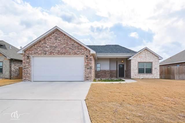 2417 Homestead Place, Abilene, TX 79601 (MLS #14262999) :: Ann Carr Real Estate