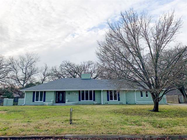 320 Highland Drive, Sulphur Springs, TX 75482 (MLS #14263063) :: Tenesha Lusk Realty Group