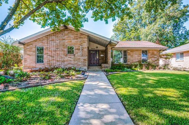 6633 Kingsbury Drive, Dallas, TX 75231 (MLS #14263065) :: Robbins Real Estate Group