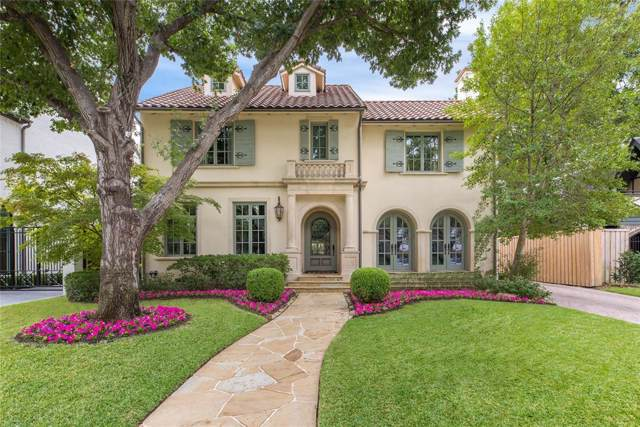 4325 Fairfax Avenue, Highland Park, TX 75205 (MLS #14263075) :: Robbins Real Estate Group