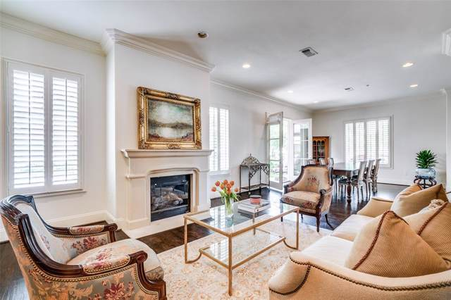 8505 Edgemere Road #101, Dallas, TX 75225 (MLS #14263103) :: Results Property Group