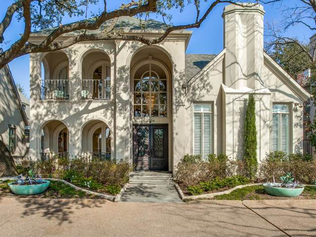 3304 Dartmouth Avenue, Highland Park, TX 75205 (MLS #14263225) :: Robbins Real Estate Group