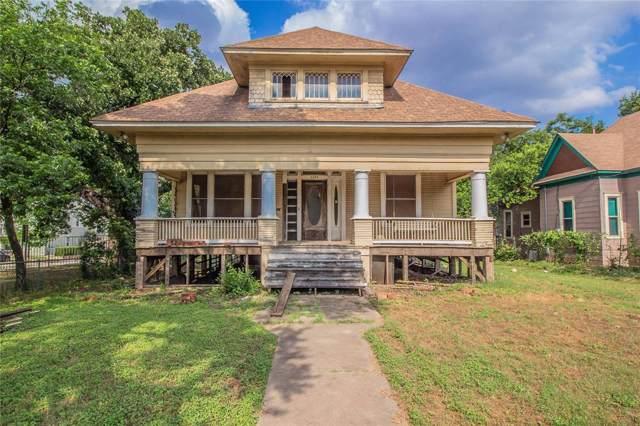 1106 Samuels Avenue, Fort Worth, TX 76102 (MLS #14263325) :: RE/MAX Landmark
