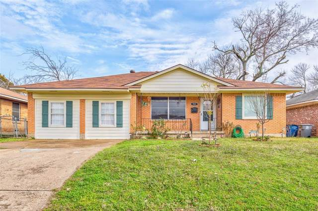 1922 Houghton Road, Dallas, TX 75217 (MLS #14263334) :: Frankie Arthur Real Estate