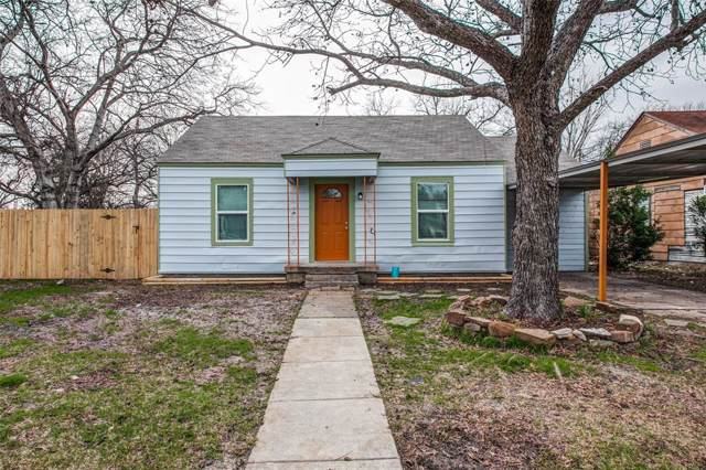 1653 Ash Street, Grand Prairie, TX 75050 (MLS #14263424) :: The Heyl Group at Keller Williams