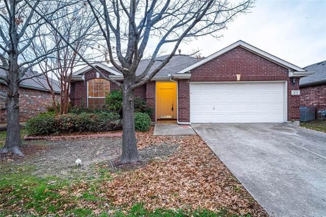 512 Colt Drive, Forney, TX 75126 (MLS #14263484) :: Vibrant Real Estate