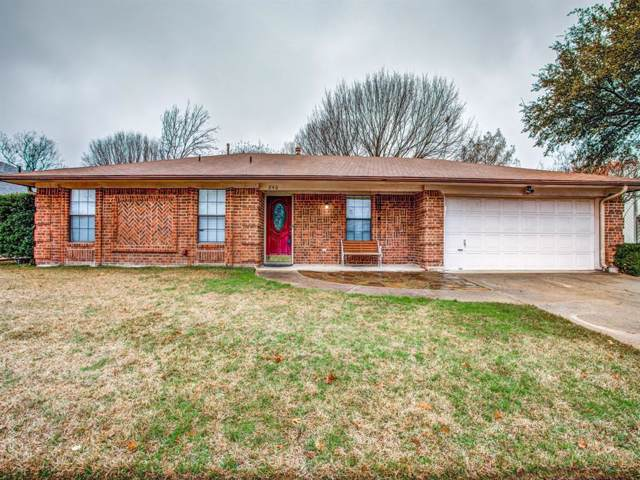 840 Western Trail, Keller, TX 76248 (MLS #14263591) :: Team Hodnett