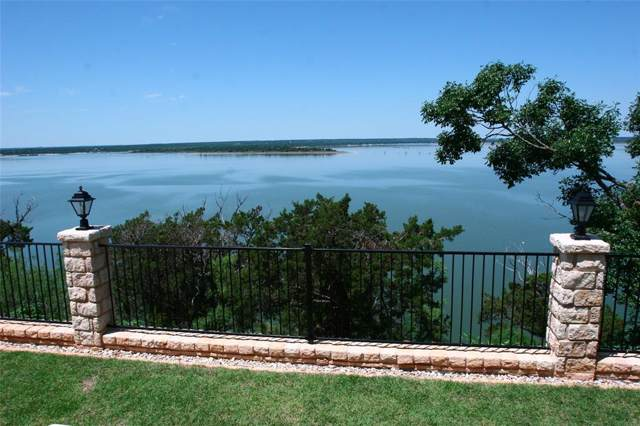 28021 White Bluff Drive, Whitney, TX 76692 (MLS #14263747) :: The Chad Smith Team