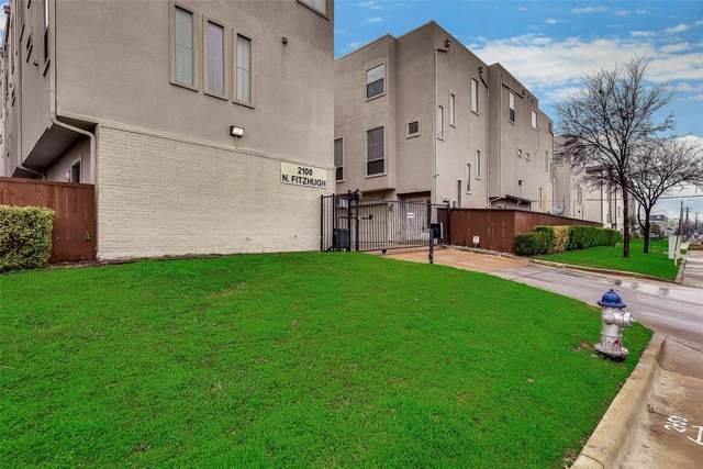 2100 N Fitzhugh Avenue H, Dallas, TX 75204 (MLS #14263803) :: The Mauelshagen Group