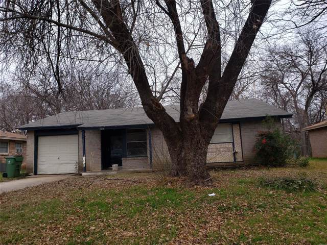 1411 Rosewood Lane, Arlington, TX 76010 (MLS #14263828) :: The Hornburg Real Estate Group