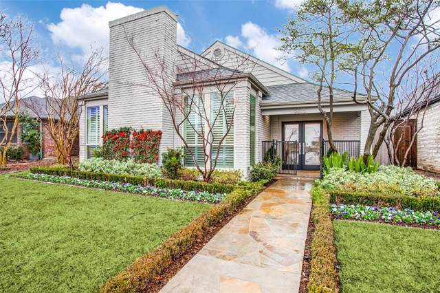 5805 Trail Meadow Drive, Dallas, TX 75230 (MLS #14263864) :: Potts Realty Group