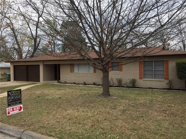 2031 Crestridge Street, Stephenville, TX 76401 (MLS #14263881) :: North Texas Team | RE/MAX Lifestyle Property
