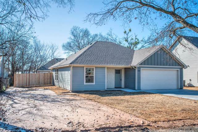 208 Second Street, Valley View, TX 76272 (MLS #14263918) :: Justin M Bassett Realty Group