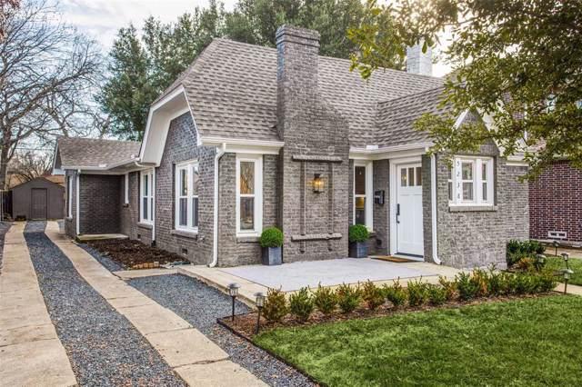 5238 Ridgedale Avenue, Dallas, TX 75206 (MLS #14263926) :: Hargrove Realty Group