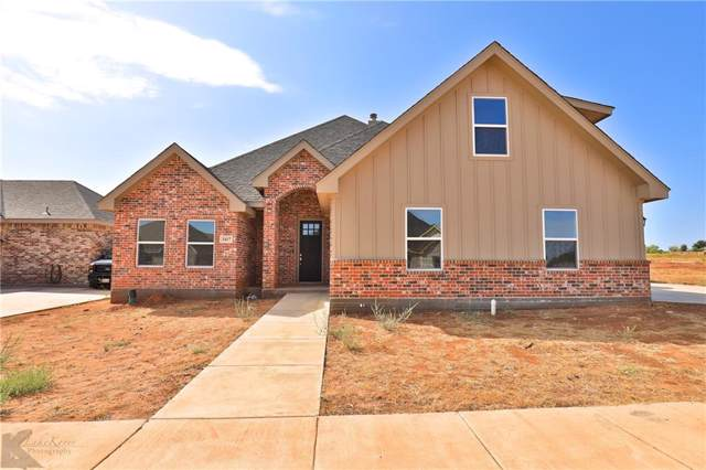 3417 Double Eagle, Abilene, TX 79606 (MLS #14263964) :: Real Estate By Design