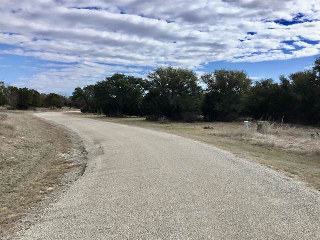 Lot 9 Stetson Lane, Graford, TX 76449 (MLS #14263966) :: The Heyl Group at Keller Williams