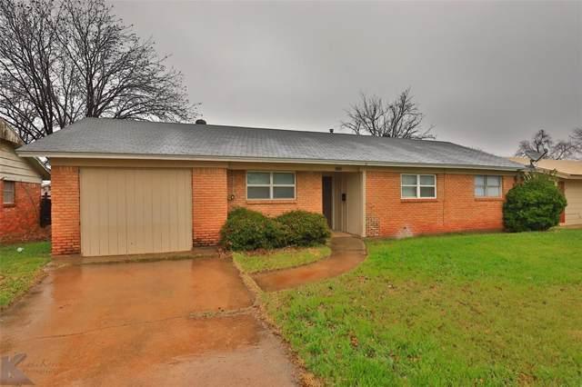3702 Ambler Avenue, Abilene, TX 79603 (MLS #14263986) :: North Texas Team | RE/MAX Lifestyle Property