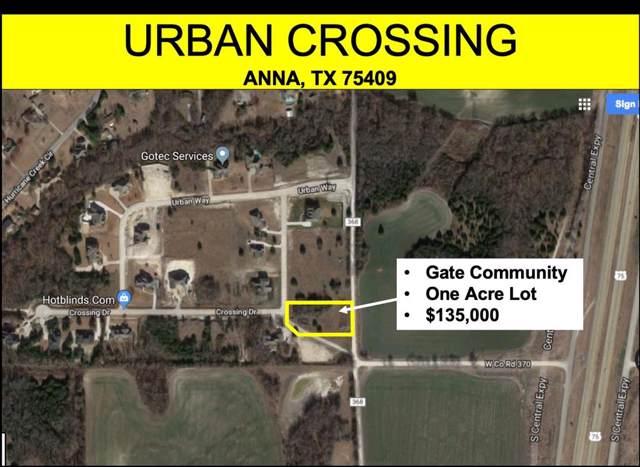 3007 Crossing Drive, Anna, TX 75409 (MLS #14264058) :: The Welch Team
